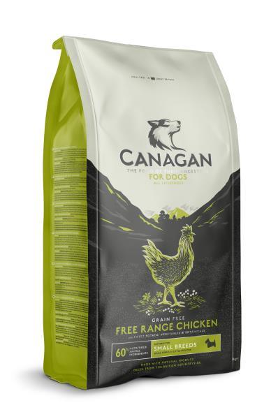 Canagan GF Free Range Chicken Small Breeds / Сухой Беззерновой корм Канаган для собак Мелких пород Цыпленок