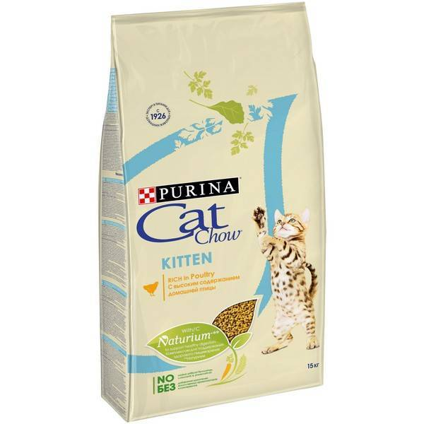 Purina Cat Chow Kitten Poultry / Сухой корм Пурина Кэт Чау для Котят Птица
