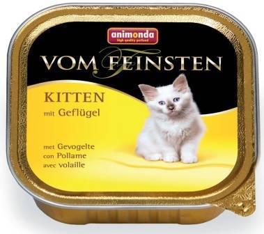 Animonda Vom Feinsten Kitten / Консервы Анимонда для Котят с домашней Птицей (цена за упаковку)