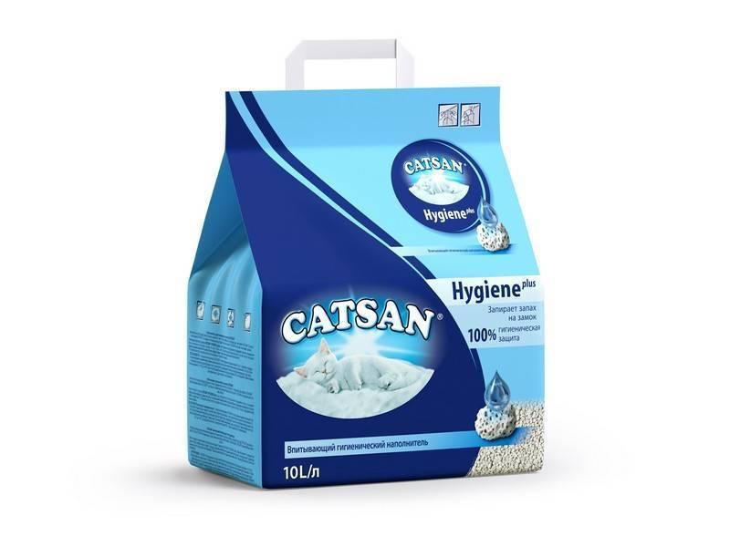 Catsan / Наполнитель для кошачьего туалета Катсан Впитывающий гигиенический