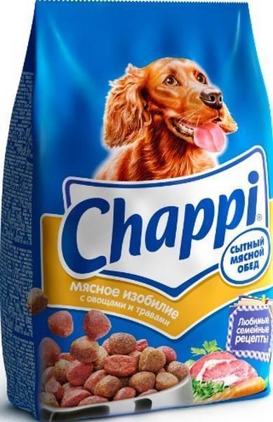 Chappi / Сухой корм Чаппи для собак Сытный мясной обед Мясное изобилие