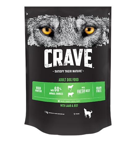 Crave Adult Dog Lamb & Beef Grain free / Сухой Беззерновой корм Крэйв для взрослых собак Говядина и Ягненок