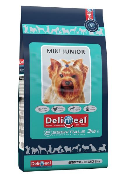 Delimeal Essentials Mini Junior / Сухой корм Делимил для Щенков Мелких и Миниатюрных пород Курица