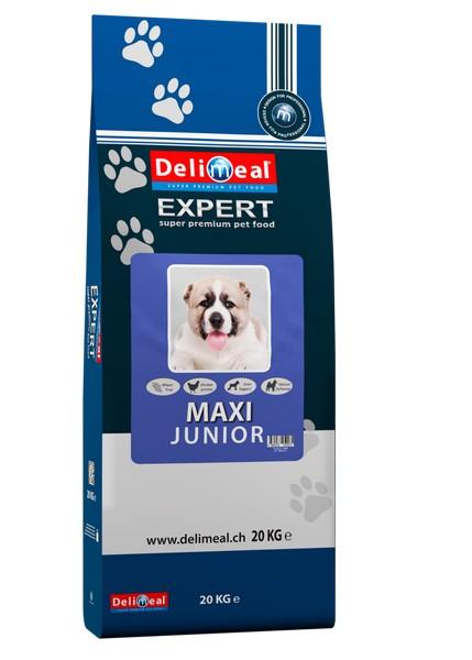 Delimeal Expert Maxi Junior / Сухой корм Делимил для Щенков Крупных пород Птица