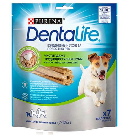 Purina Dentalife / Лакомство Пурина Денталайф для собак Мелких пород Палочки Ежедневный уход за полостью рта