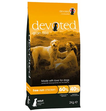 Devoted Adult All Breeds free run Chicken Grain free / Сухой Беззерновой корм Дивоутед для взрослых собак всех пород с Курицей свободного выгула