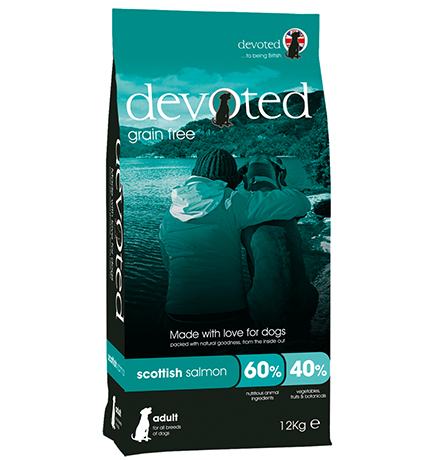 Devoted Adult All Breeds Scottish Salmon Grain free / Сухой Беззерновой корм Дивоутед для взрослых собак всех пород с шотландским Лососем