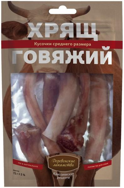 Деревенские лакомства Классические рецепты / Хрящ Говяжий кусочки Среднего размера