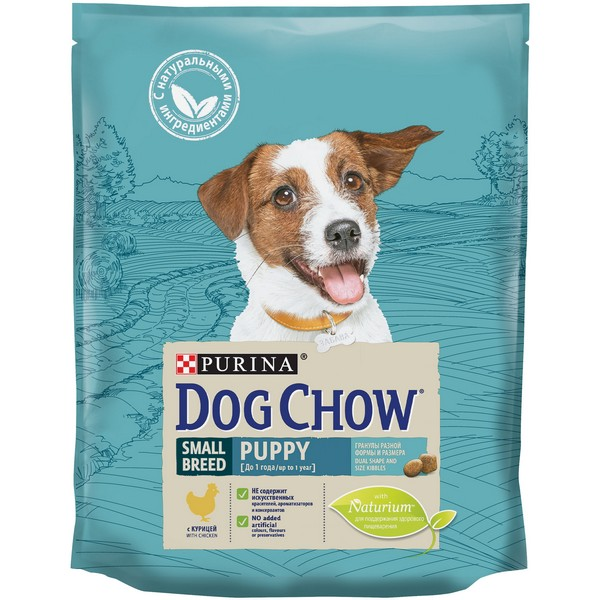 Purina Dog Chow Puppy Mini Chicken / Сухой корм Пурина Дог Чау для Щенков Мелких пород в возрасте до 1 года Курица