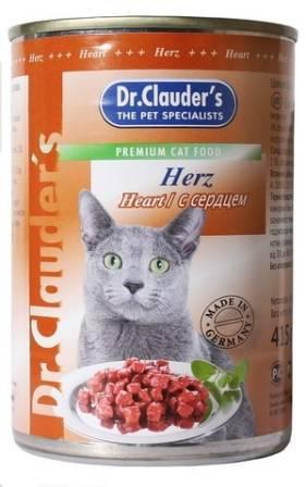 Dr Clauder Кусочки в соусе Сердце / Консервы Доктор Клаудер для кошек (цена за упаковку)