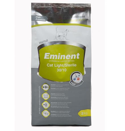 Eminent Cat Light Sterile 30-10 / Сухой корм Эминент для кошек с Лишним весом и Стерилизованных кошек