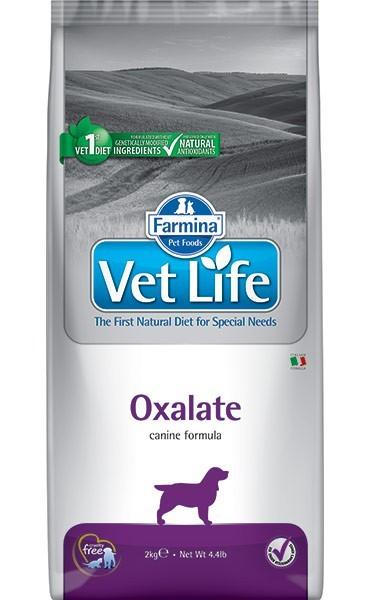 Farmina Vet Life Oxalate / Лечебный корм Фармина для собак при МКБ (Оксалаты, ураты, цистины)