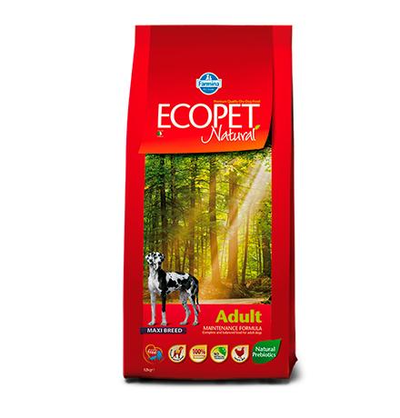 Farmina Ecopet Natural Puppy Maxi Breed / Сухой корм Фармина Экопет для Щенков Крупных пород с Курицей