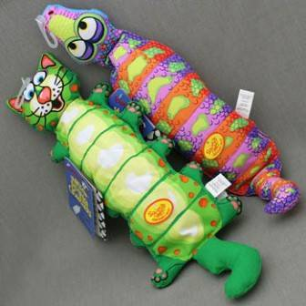 Fat Cat Water Bottle Crunchers Toy / Игрушка Фэт Кэт мягкая для собак