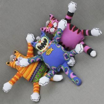 Fat Cat Terrible Nasty Scaries Toy Mini / Игрушка Фэт Кэт мягкая для собак