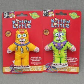 Fat Cat Kitten Little Toy / Игрушка Фэт Кэт мягкая для кошек