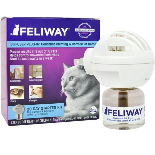 Ceva Feliway Classic / Корректор поведения Сева Феливей Классик для кошек Диффузор + флакон 48мл