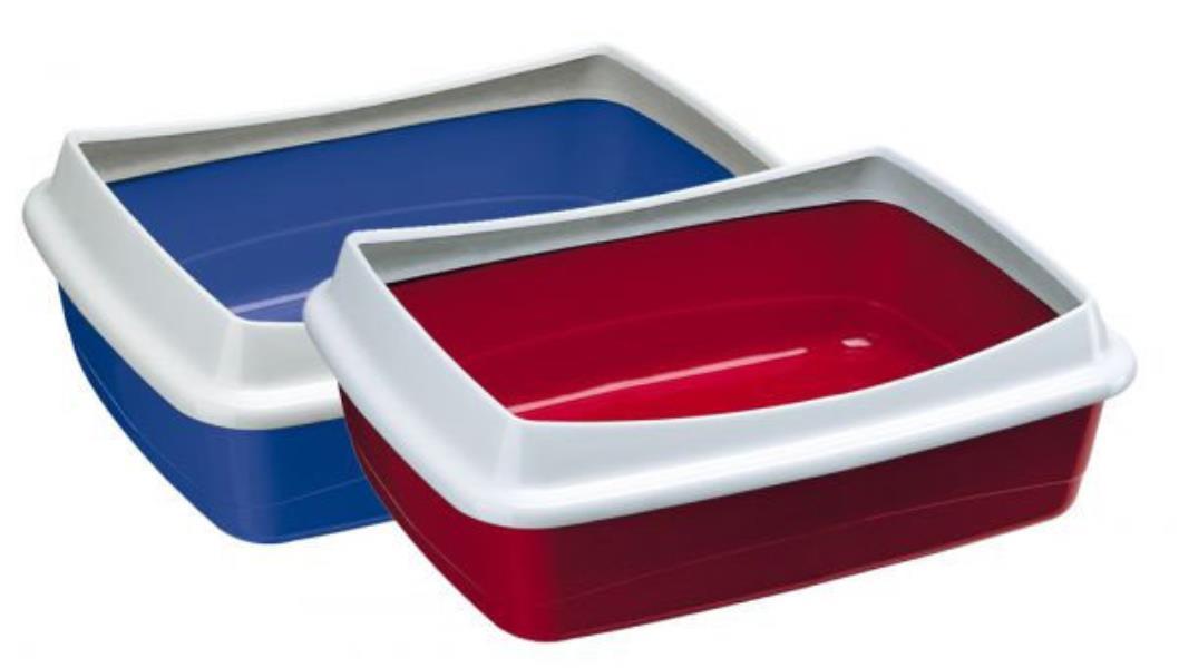 ferplast NIP PLUS 20 / Открытый туалет Ферпласт для кошек со Съемным пластиковым бортом