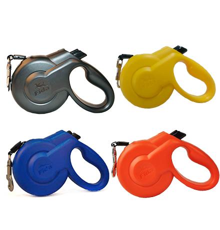 Fida Styleash / Стильная рулетка Фида для собак Мелких пород весом до 12 кг с Выдвижным Шнуром 3 м