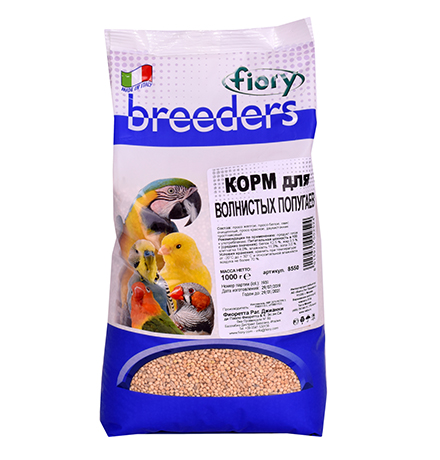 Fiory Breeders / Корм Фиори для Волнистых попугаев