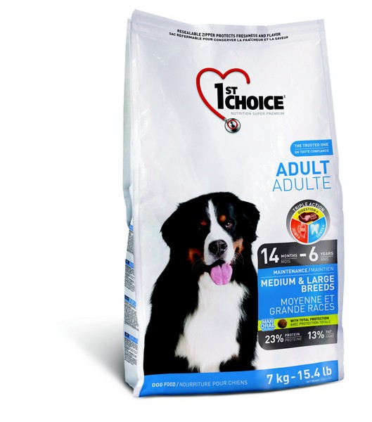 1st Choice Adult Medium & Large Breeds / 1st Choice Сухой корм Фёст Чойс для Собак Средних и Крупных пород Курица