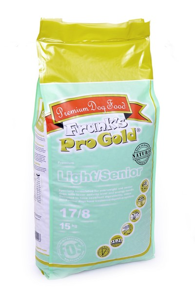 Franks ProGold Light/Senior 17/8 / Сухой корм Фрэнкс ПроГолд для собак Контроль веса