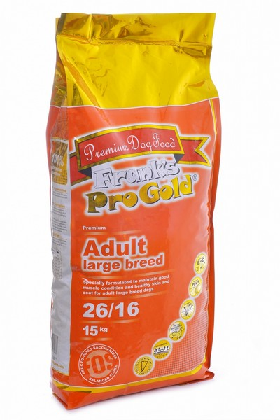 Franks ProGold Adult Large Breed 26/16 / Сухой корм Фрэнкс ПроГолд для собак Крупных пород Курица