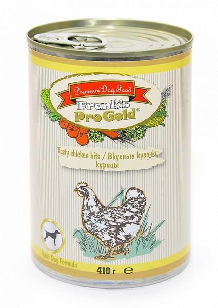 Franks ProGold Tasty chicken bits Adult Dog Recipe / Консервы Фрэнкс ПроГолд для собак
