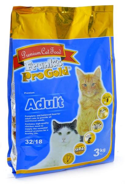Franks ProGold Adult 32/18 Chicken / Сухой корм Фрэнкс ПроГолд для взрослых кошек Курица
