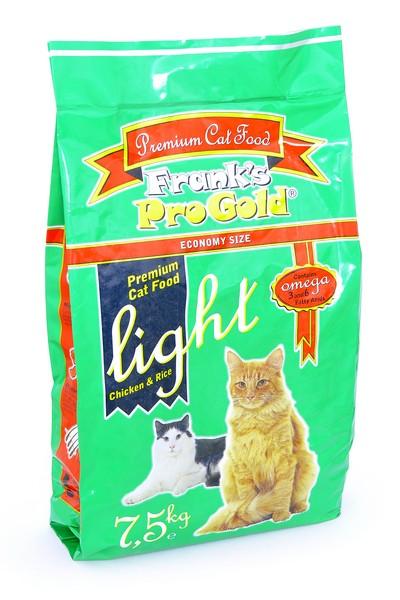 Franks ProGold Light 29/12 / Сухой корм Фрэнкс ПроГолд для кошек с Избыточным весом