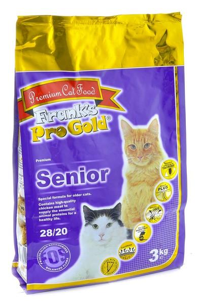 Franks ProGold Senior 28/20 / Сухой корм Фрэнкс ПроГолд для Пожилых кошек