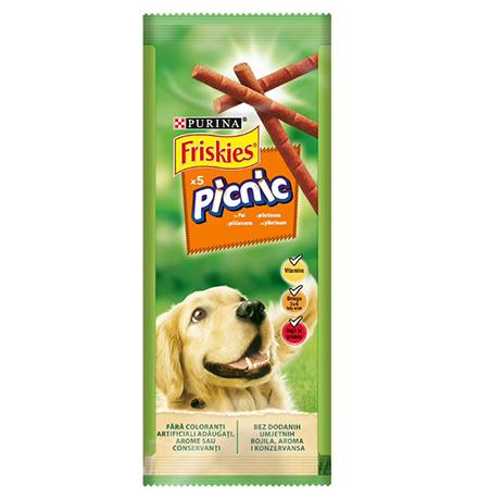 Friskies Picnic / Лакомство Фрискис для взрослых собак с Курицей