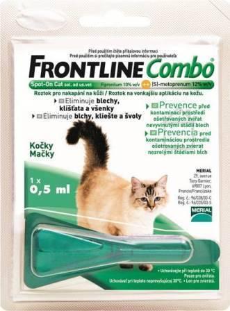 Merial Фронтлайн Комбо для кошек пипетка 0,5 мл