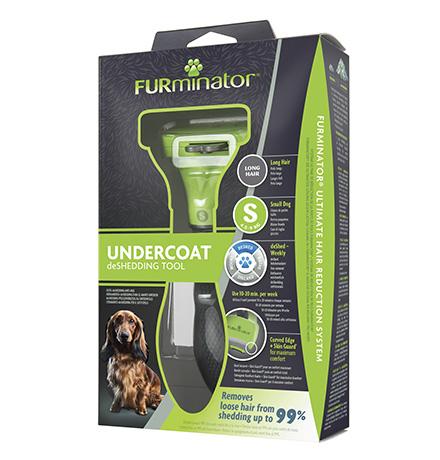 FURminator S Small Dog Short Hair / Фурминатор для собак Мелких пород с Короткой шерстью