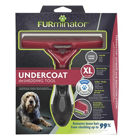 FURminator XL Extra Large Dog Long Hair / Фурминатор для собак Гигантских пород с Длинной шерстью