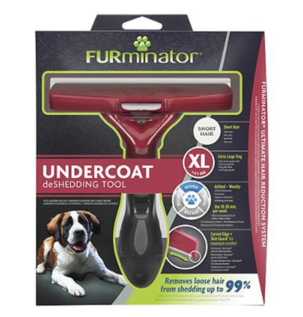 FURminator XL Extra Large Dog Short Hair / Фурминатор для собак Гигантских пород с Короткой шерстью