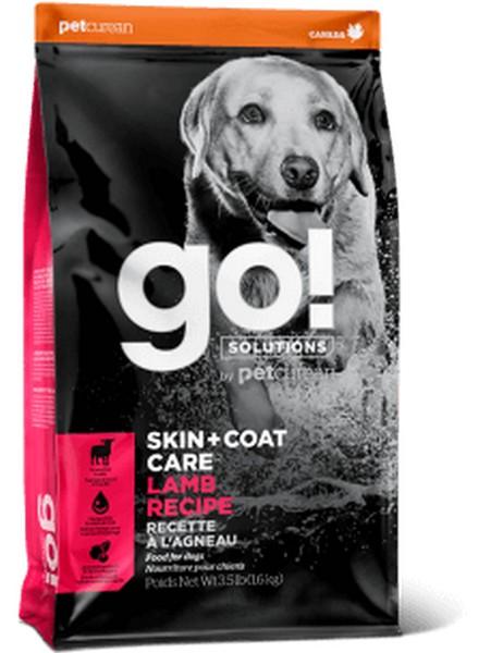 GO! Skin + Coat Care Lamb Meal Recipe / Сухой корм Гоу для Щенков и собак Ягненок