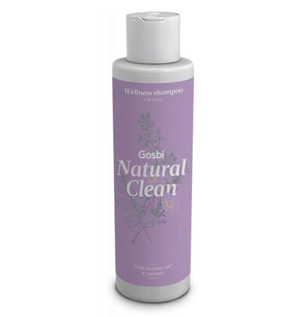 Gosbi Natural Clean Wellness shampoo / Шампунь Госби для взрослых собак