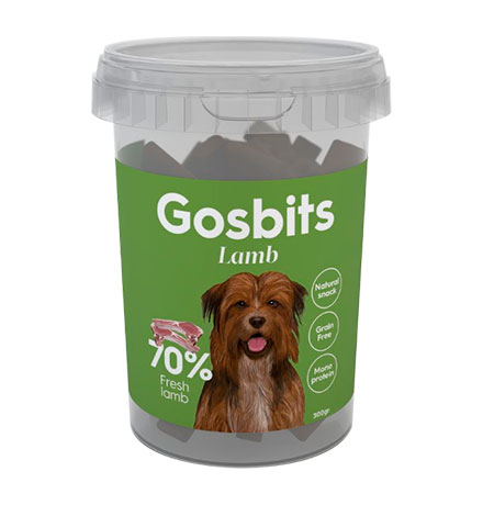 Gosbits Lamb / Беззерновое лакомство Госби для собак с мясом Ягненка