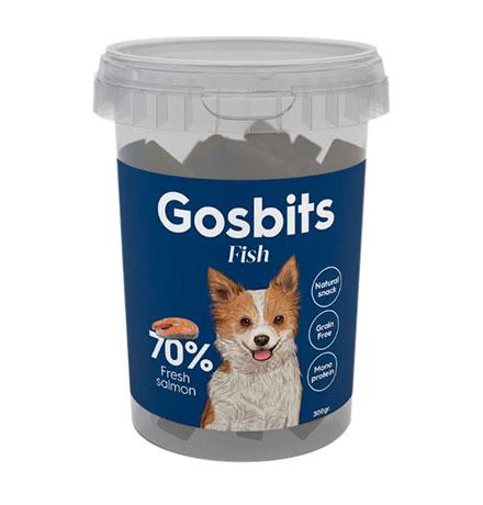 Gosbits Fish / Беззерновое лакомство Госби для собак с Рыбой