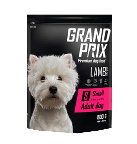 Grand Prix Adult Dog Small Lamb / Сухой Гипоаллергенный Безглютеновый корм Гран При для взрослых собак Мелких и Миниатюрных пород Ягненок