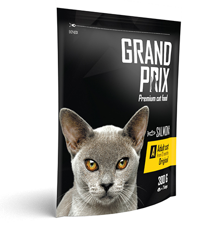 Grand Prix Adult Cat Original Salmon / Сухой корм Гран При для кошек от 12 месяцев Лосось