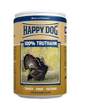 Happy Dog 100% Truthahn / Консервы Хэппи Дог для собак Монобелковые Индейка (цена за упаковку, Германия)