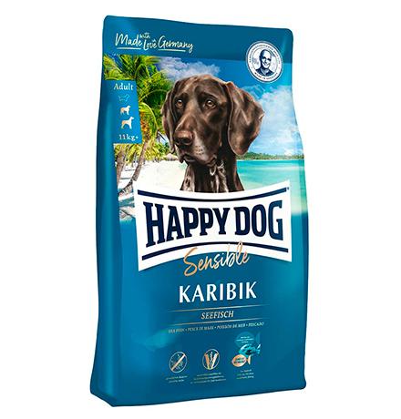 Happy Dog Supreme Sensible Karibik Seefisch & Kartoffel / Сухой корм Хэппи Дог Чувствительное пищеварение Карибик (Морская рыба с картофелем)