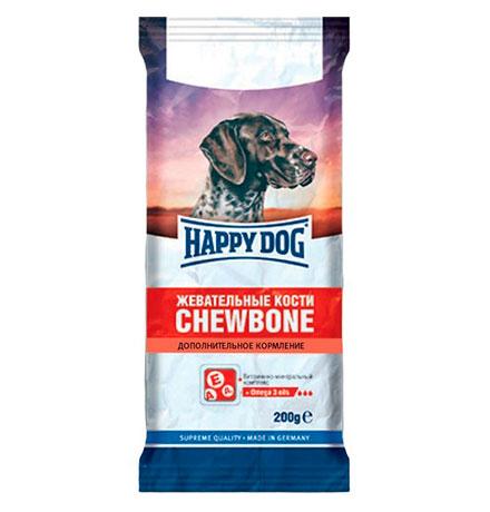Happy Dog Chewbone / Лакомство для собак Жевательные Кости Дополнительное кормление