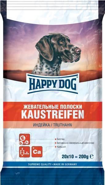 Happy Dog Kaustreifen / Лакомство для собак Жевательные Полоски Индейка