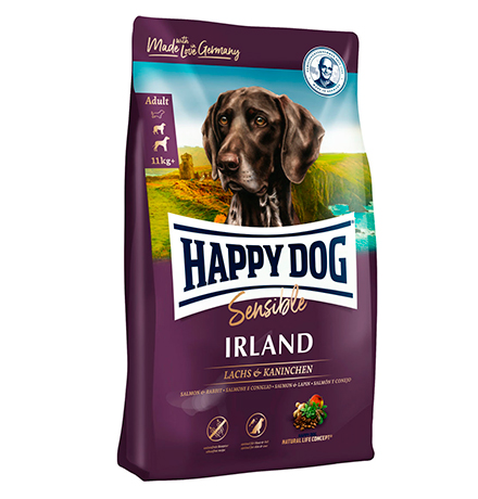 Happy Dog Supreme Sensible Irland Lachs & Kaninchen / Сухой корм Хэппи Дог Чувствительное пищеварение Ирландия (Лосось и Кролик)