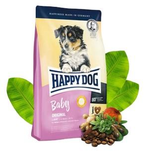 Happy Dog Baby Original / Сухой корм Хэппи Дог для Щенков в возрасте с 1 по 6 месяц
