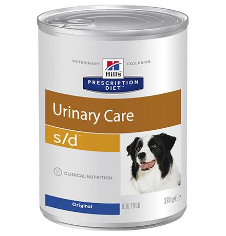 Hills Prescription Diet Canine s/d / Лечебные консервы Хиллс s/d для собак Заболевание почек (уролиты) (цена за упаковку)
