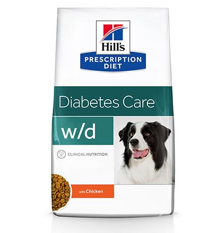 Hills Prescription Diet Canine w/d / Лечебный корм Хиллс w/d для собак Сахарный диабет